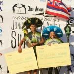 Junior Pro Champs Mo Freitas & Lara Claydon